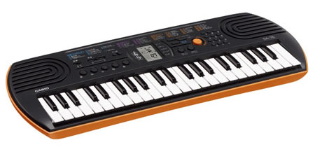 Casio SA-76 a great Toodler Keyboard